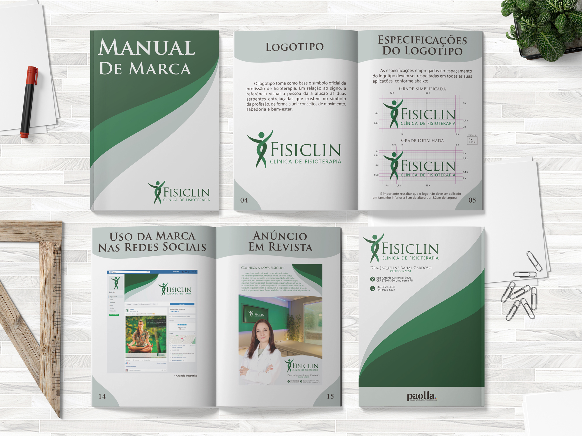 Manual de Marca: Fisiclin
